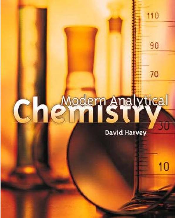 David harvey modern analytical chemistry